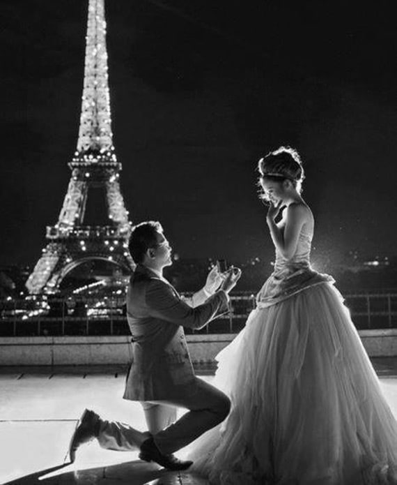 demande en mariage tour eiffel et conseils choix bagues