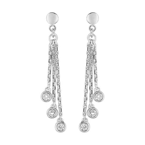 boucles d'oreilles aya diamant