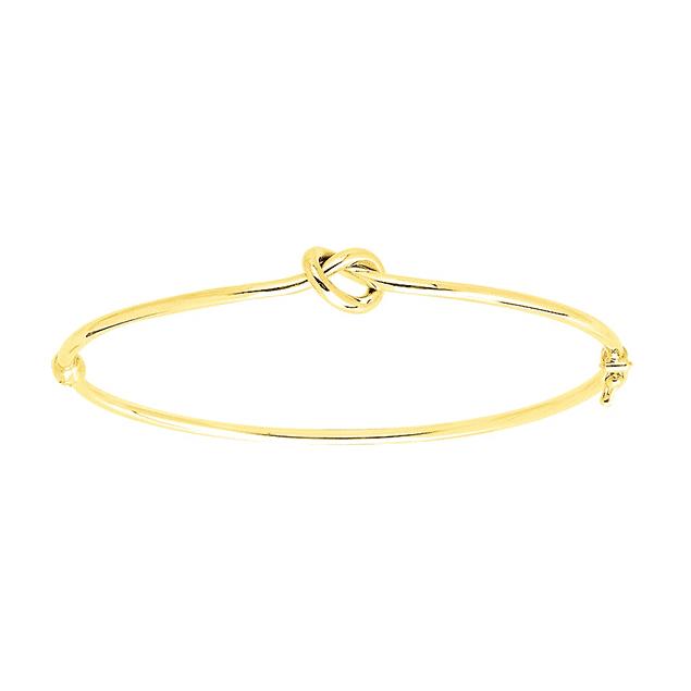 Bracelet Entrelace or jaune 18k