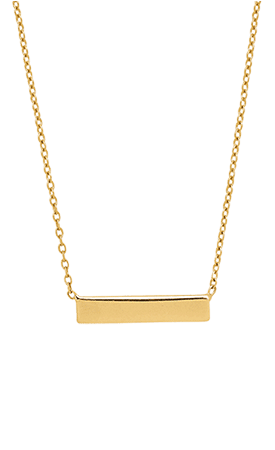 Collier Hype Or Jaune