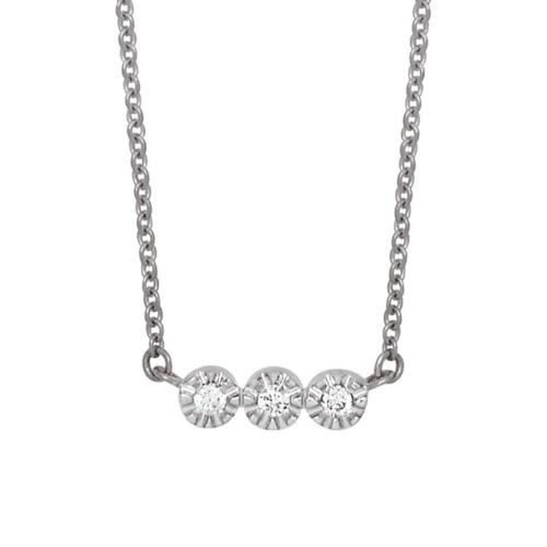Collier Vidura Or blanc et diamants