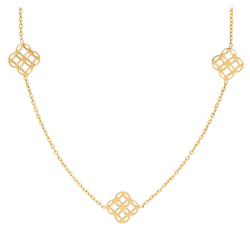 Collier Caprice Or Jaune 18 cts