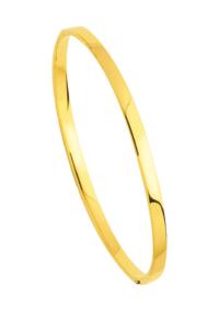 Bracelets Jonc Rectangle Or Jaune
