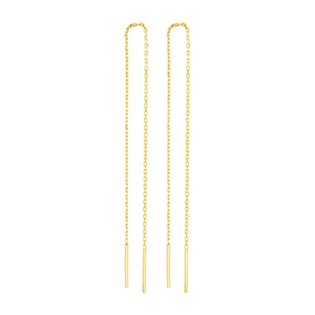 Pendantes or jaune