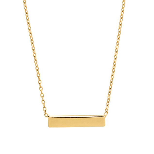 Colliers Chic en or jaune 18 carats pour femme