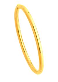 Bracelets Jonc Or Ouvrant Fil Rond 4mm