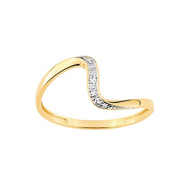 Bague Dubai Or Jaune Diamants