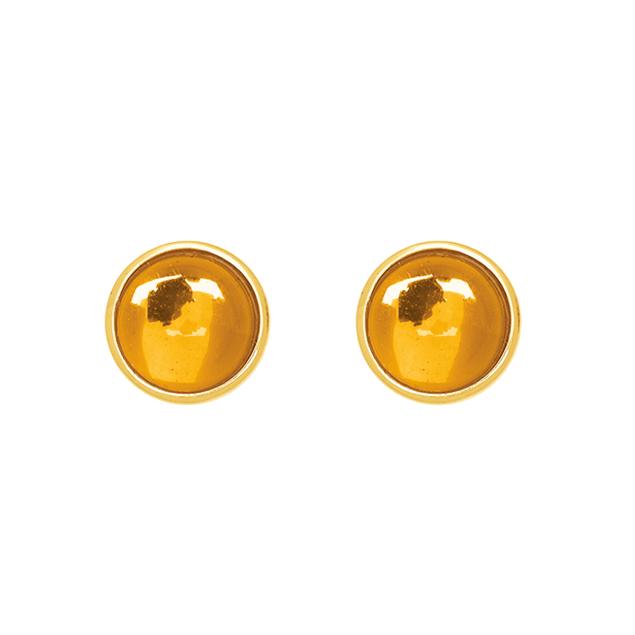 Boucles d'oreilles Lisboa Citrine