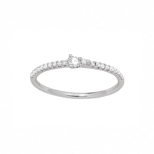 Anneau de Fiancailles Diamant
