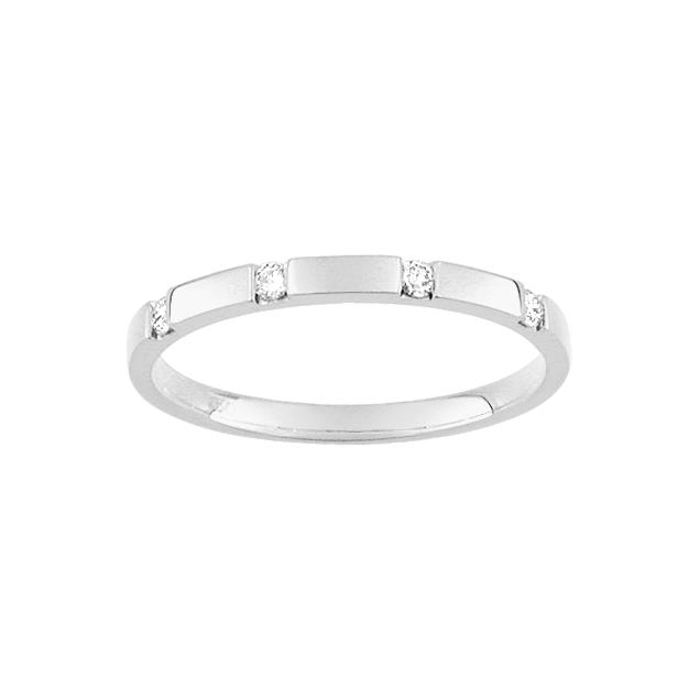Alliances femme Diamant