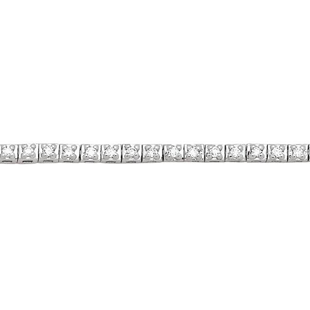 Bracelet Riviere Diamant 0,25 Carat
