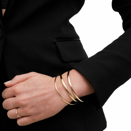 Bracelets Joncs Or Jaune