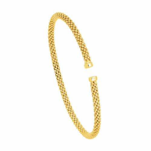 Bracelet Femme Tendance Or Jaune