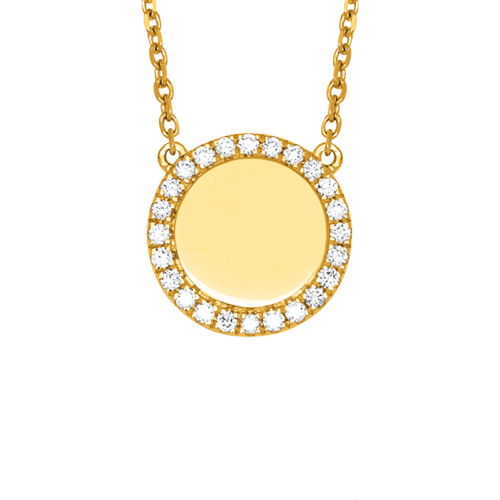 collier or diamant