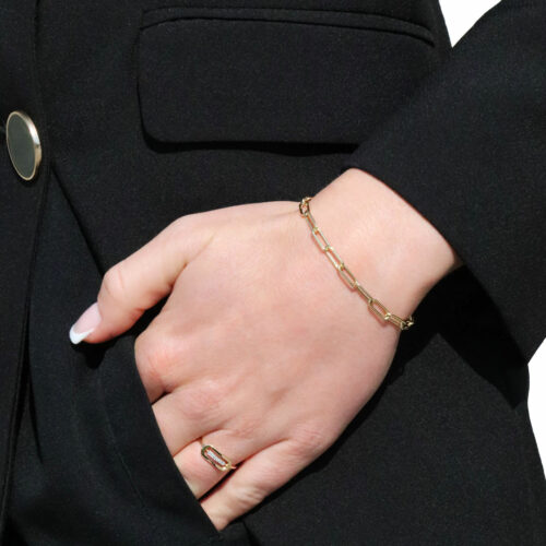Bracelet Chaine Or