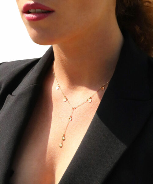 Collier Y or