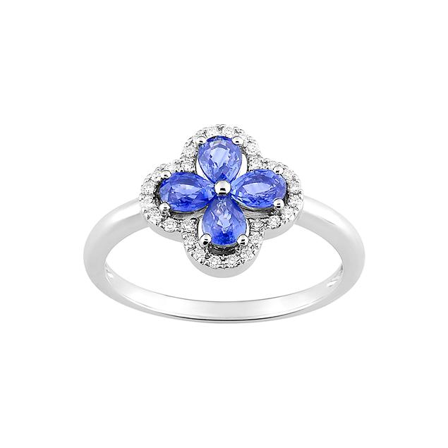 Bague Saphir Bleu
